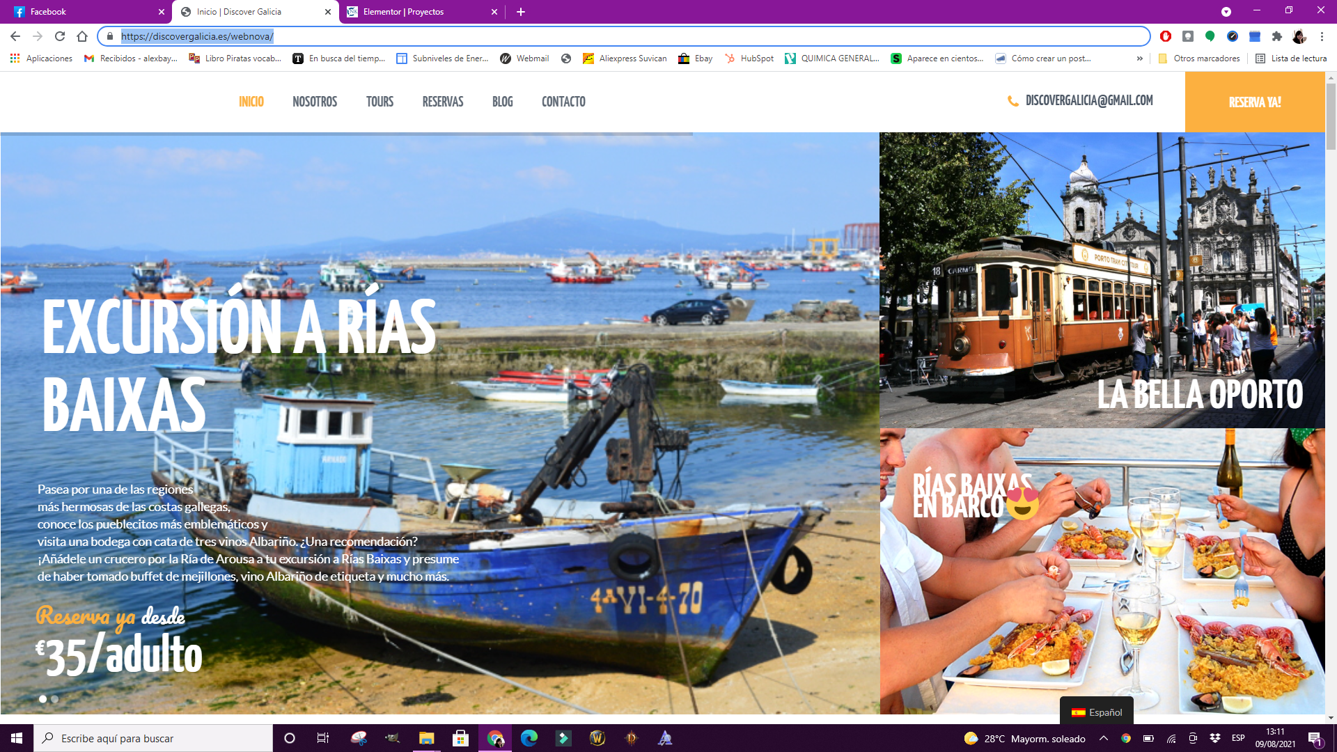 Web discover galicia NK Projects